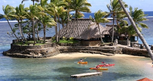 Kayaking will give you new experience when you do it during your next Fiji vacations.