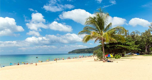 Phuket is Thailand's largest island and is surrounded by the Andaman Sea.