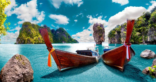 Long tail boats, Phuket