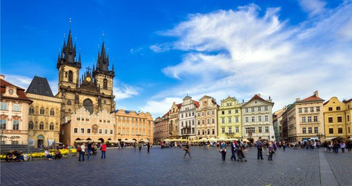 The Old Town Square is at the centre of your Prague vacation