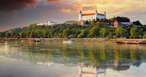 You will see Bratislava during your trip to Slovakia