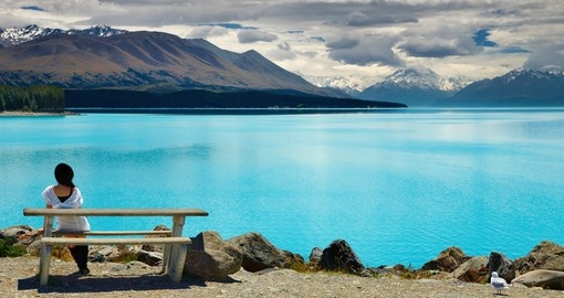 Must visit lake Pukaki and Mount Cook when you travel to New Zealand.