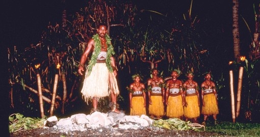 Fiji firewalking ceremony