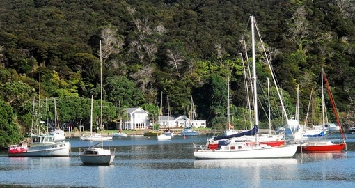 Harbor view of Mangonui