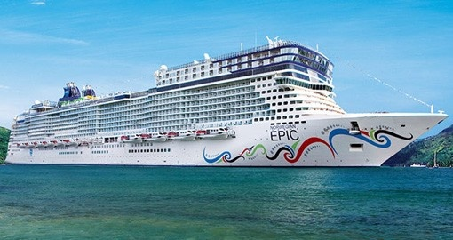 Your Mediterranean vacation is aboard the Norwegian Epic