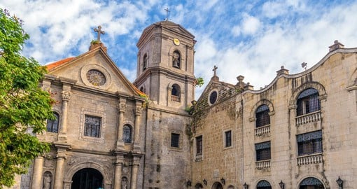 Learn about the influence that the Roman Catholic church had on the region, dating back to 1571 on one of your Philippine Tours
