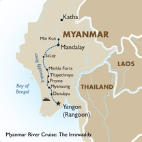Myanmar River Cruise: The Irrawaddy