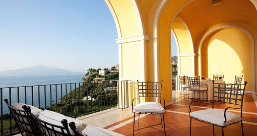 Take in spectacular views from Grand Hotel Angiolieri on your Italy vacation
