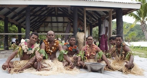 Included in your Fiji Vacation Package is a visit to a local Fijian village where you will get some insight into the lives of local people.