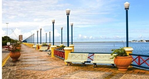 Waterfront promenade