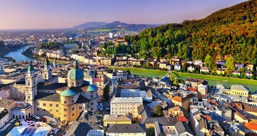 Take in history Salzburg on your Austria vacation