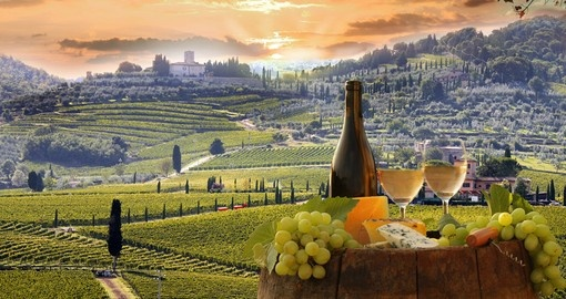 Visit the Vineyard of Chianti on your trip to Italy