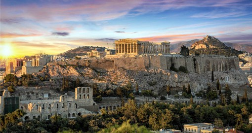 Begin your Greece vacation with a visit to the Acropolis in Athens