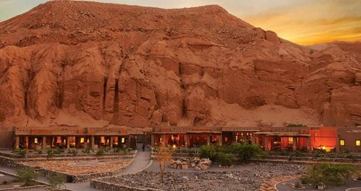 Your Chile Vacation stays at the Alto Atacama Lodge