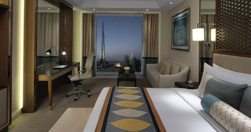 Luxury accommodation at the Taj on your Dubai Vacation