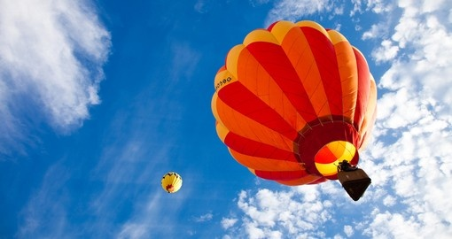 Include a hot air balloon ride over Melbourne on your trip to Australia