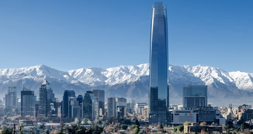 Relax and take in the breathtaking mountain views in Santiago on your Chile vacation