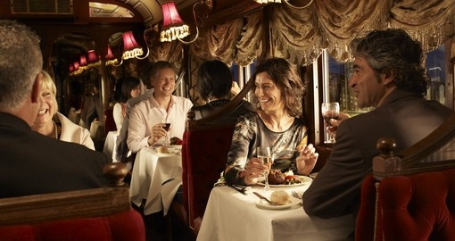 Melbourne's iconic Tramcar Restaurant is a great evening on your Australia vacation