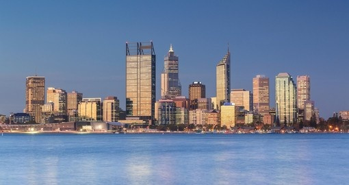 Enjoy the panoramic view of Perth during your next Australia vacations.