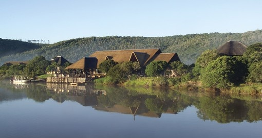 Kariega Private Game Reserve is a popular inclusion on South African tours.