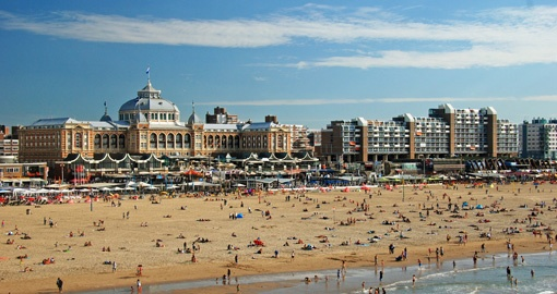 Scheveningen beach, The Hague, Netherlands