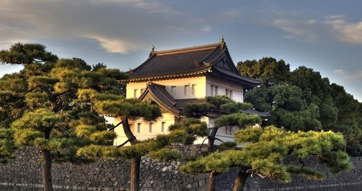 Walk along the waterways surrounding the Imperial Palace which once was home to the Tokugawa Shogun and take a step back in time on your Trip to Japan