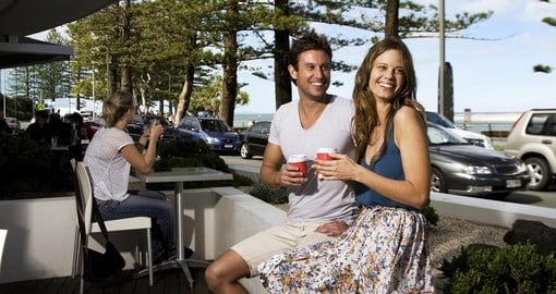 You have to have coffee on the esplanade and enjoy the amazing taste during your next trip to Australia