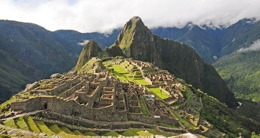 The world famous Machu Picchu is a must for all Peru tours