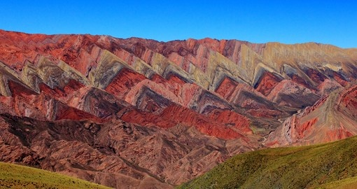 Visit Quebrada de Humahuaca mountain valley on your next Argentina vacations.