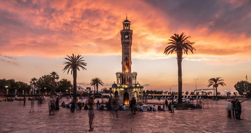 The history of Izmir dates back to 3000 BC