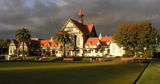 The Rotorua museum is a must inclusion for all New Zealand tours