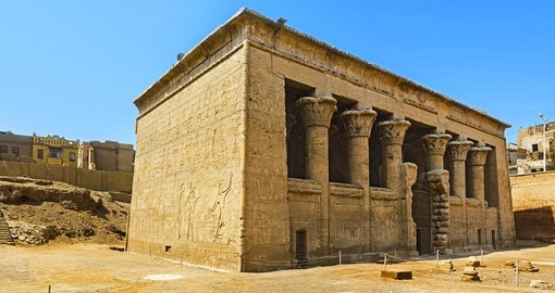 Explore the great Temple in Esna on your next Egypt tours.