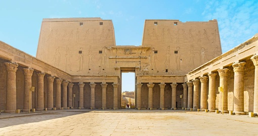 Take in thousands of years of history at the Great Temple of Horus on your Egypt vacation