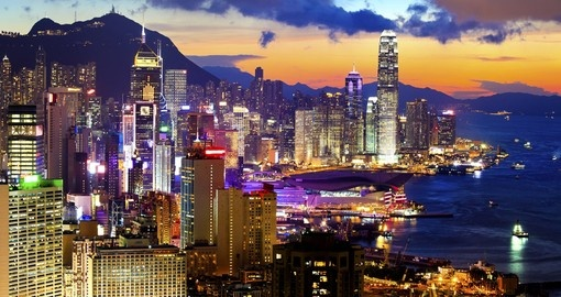 Visit the vibrant and active shopping districts in Hong Kong on your Hong Kong Holiday