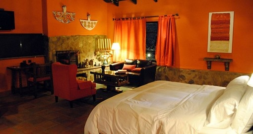 Relax in your Casita Suite on your Peru vacation