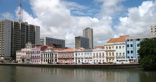 Recife's waterfront