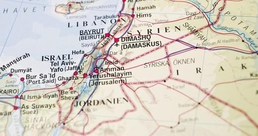Jordan Geography Maps Jordan Tours 201819 Goway Travel