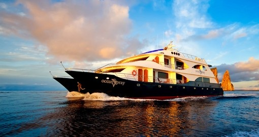 Enjoy the MV Ocean Spray on your Galapagos tour