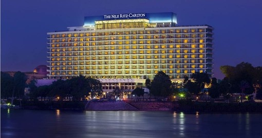 Set on the Banks of the Nile, The Ritz Carlton is the perfect location for your Egypt Tour