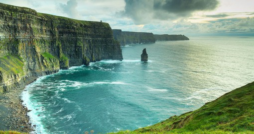 Your Ireland Vacations includes a visit to the Cliffs of Moher