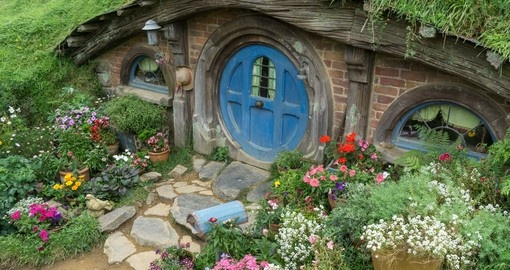 Stroll the paths of Hobbiton