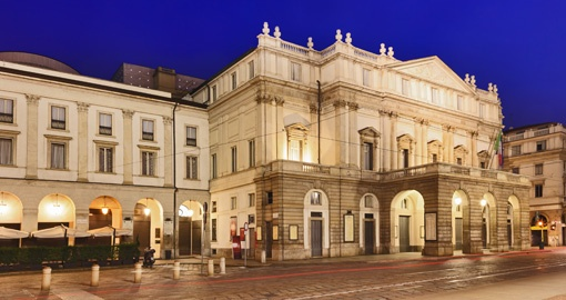 La Scala Theater, Lombardy, Milan City