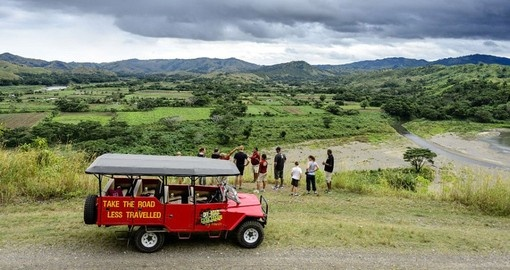 A Sigatoka Off-Road cave tour will be just one of many highlights of your Fiji Vacation