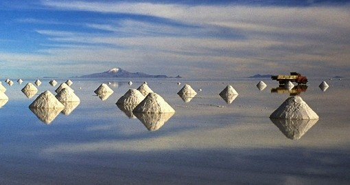 The Salt Flats are a must see on any trip to Bolivia