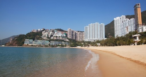 Beach on Hong Kong Island