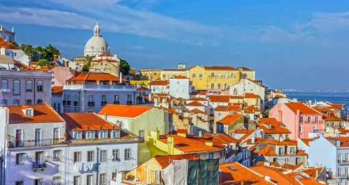 Take a half day walking tour of Lisbon as part of your Portugal Vacation
