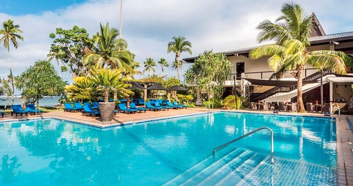 Enjoy the luxurious Warwick Fiji Resort & Spa on your trip to Fiji