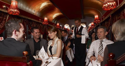 Enjoy in Melbourne on the iconic Tramcar Restaurant on your next trip to Australia.