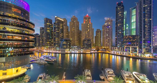 The Marina is one of Dubai's favourite social destinations