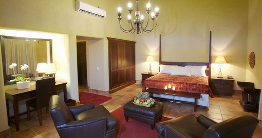 Kapama River lodge royal suite